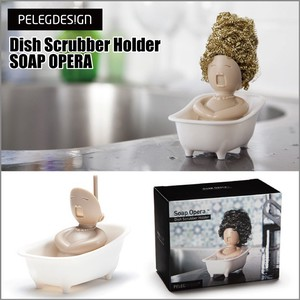 Rex Usually Sponge Dish Rubber Holder Soap Opera
