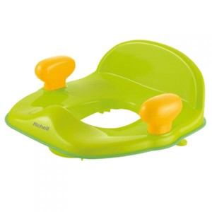 Richell Pottis Support Toilet Seat Green