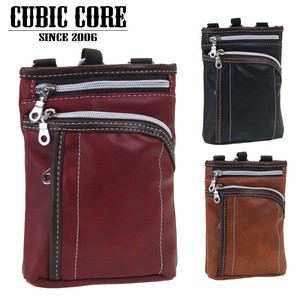 CUBIC CORE Synthetic Leather Bag