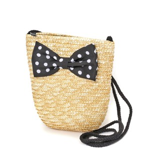 Kids Ribbon Straw Pouch