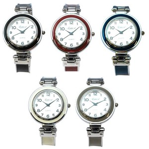 Round Color Bangle Watch Ladies Wrist Watch