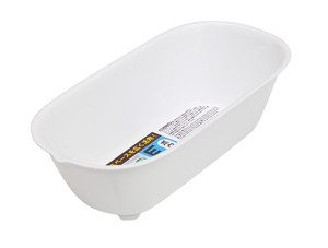 """Oval Series"" Bowl (White)"