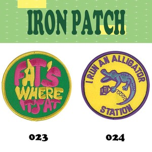 Iron Patch One Point Patch