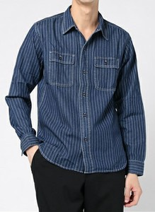 Denim Work Long Sleeve Shirt