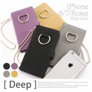 2018 S/S New Color Ring Metal Fittings iPhone Case