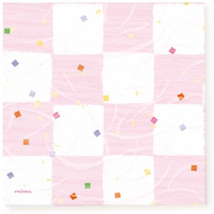 Paper Napkin Checkered Decoration