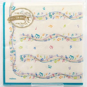Paper Napkin Music Decoration Musical Note