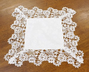 Water-Repellent Lace Doily Table Runner