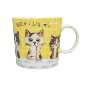 ECOUTE! Net Mug Cat Idea