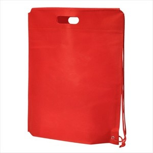 Non-woven Cloth Shoulder Bag Red Single-shoulder velty