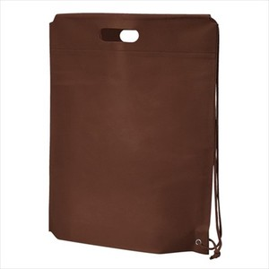 Non-woven Cloth Shoulder Bag Chocolate Single-shoulder velty