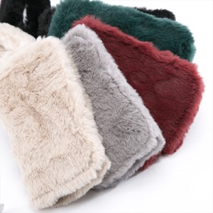 Fur Material Case Lady