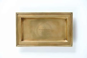 Brass Tray Rectangle