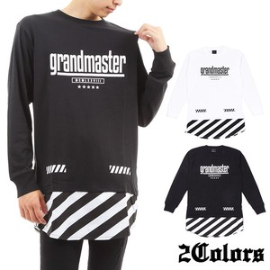 2017 A/W Jersey Stretch Switching Long Long Sleeve T-shirt Bias
