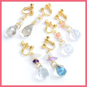 Natural stone Glass Beads Earring