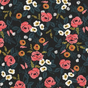 8024-025 PAINTED ROSES BALCK