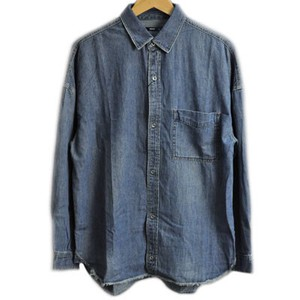 2017 A/W Silhouette Denim Shirt