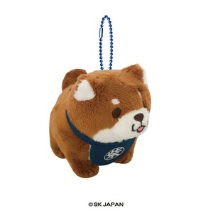 Mochishiba Stand Pose Soft Toy Ball Chain Okaka