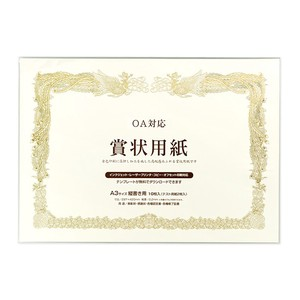 Paper Certificate Paper A3 Horizontal Pudding