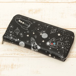 Embroidery Long Wallet