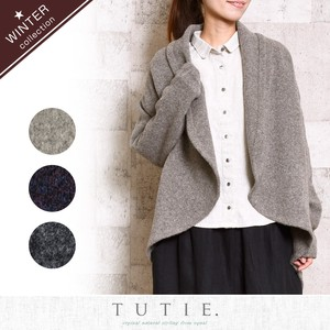 Wool Knitted Jacket Cardigan