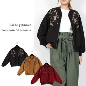 A/W Twill Embroidery Blouson
