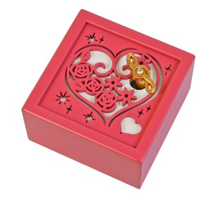 Wooden Music Box Heart Beauty And The Beast Wooden Melody