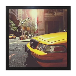 [アート+時計]A-CLOCK/Yellow Cab