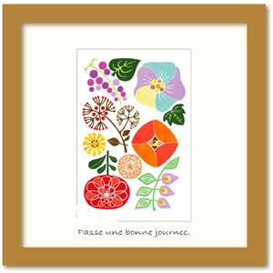 Northern Europe taste Design Art Collection Flower Pattern