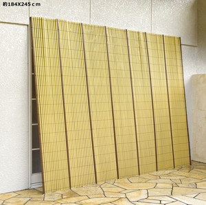 Resin Japanese Style Bamboo Fence