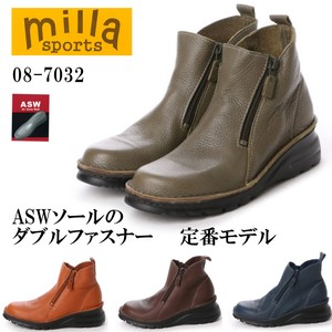 2017 A/W Double Fastener 4E Sole Comfort Boots
