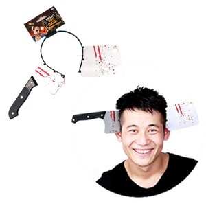 Knife Japanese Cooking Knife Headband Halloween Party Cosplay Costume