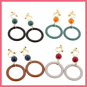 Gift Show Round Beads Color Earring