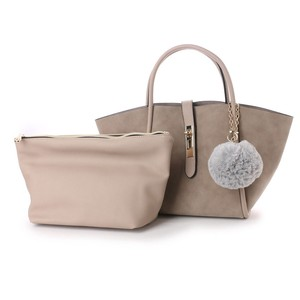 Handle Bonbon Attached Tote Bag