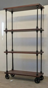 Shop household use Rack Wooden 4 Steps Rack