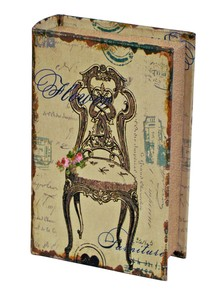 Antique Book Music Box Hotel