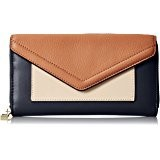 Legato Largo Fake Leather Mail Round Long Wallet