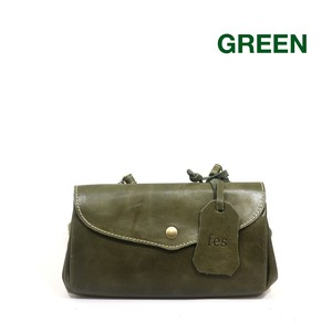 fes Leather Wallet Shoulder Bag