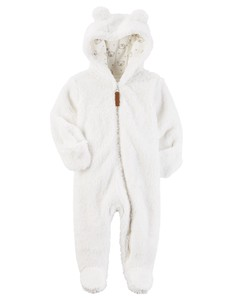 2017 A/W Fluffy Costume Cover All White