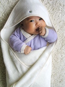 Toweling Baby Wrap [organic cotton 100%]