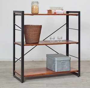 Design Wooden Open Rack