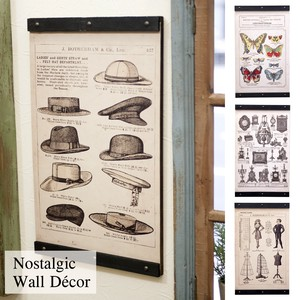 nostalgic Wall Deco Black