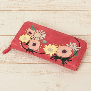 Flower Applique Long Wallet 2017 A/W