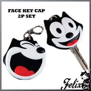 Felix Cat Rubber Cap Set