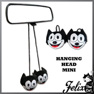 Felix Cat Hanging Head Soft Toy Front Mirror