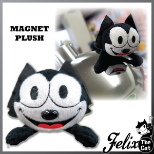 Felix Cat Magnet Soft Toy Magnet
