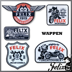Felix Cat Patch Patch Embroidery Iron Paste