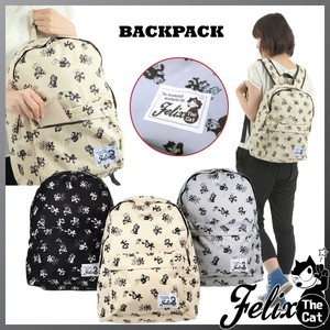 Felix Cat Repeating Pattern Backpack Backpack Knapsack