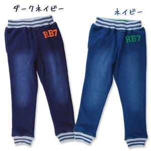 2017 A/W Toddler Denim Knitted Pants