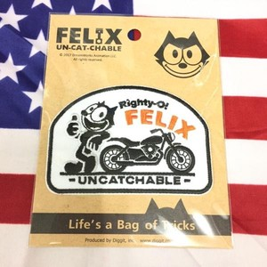 Felix UCC Deco Patch(RIGHTY O!) / フェリックス ワッペン